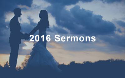 2016 Sermons