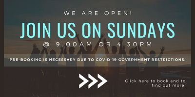 CCS reopens so join in services once again