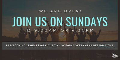 Join in Sunday Services at Christ Church Sandton