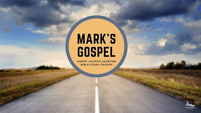 Gospel of Mark happening as a Bible Study at Christ Church Sandton
